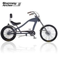 CHOPPER JÍZDNÍ KOLO STURMEY ARCHER XXL ROYAL GREY MATT