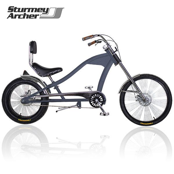 CHOPPER jízdní kolo STURMEY ARCHER Royal Grey Matt