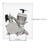 Bok motoru (rozměry)