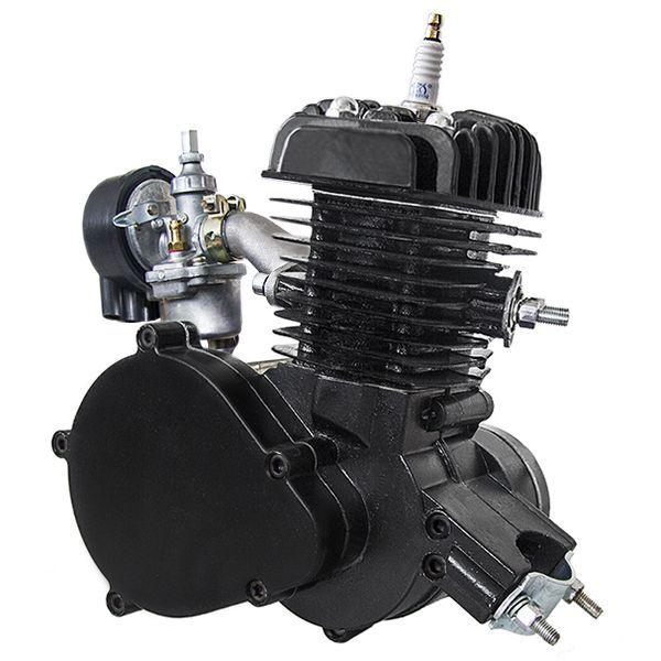 Motorový kit na motokolo 48ccm 2t Černý (přídavný motor na kolo)