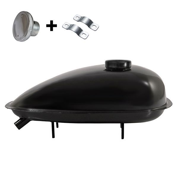 Palivová nadrž pro motokolo Sada 1,5L KLASIK nádrž+víčko+spony