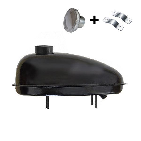 Palivová nadrž pro motokolo Sada 2,5L KLASIK nádrž+víčko+spony