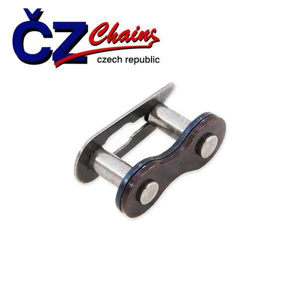 Spojka řetězu ČZ STRAKONICE destička 0,95mm LEHKÝ PEVNÝ pro motokolo
